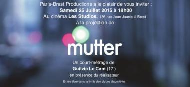 Projection «Mutter» au cinéma Les studios