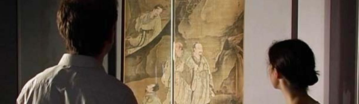 Recto-Verso, renaissance de deux peintures chinoises