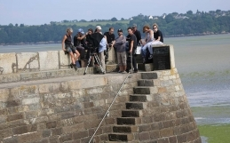 Les images du tournage d'Hasta Luego