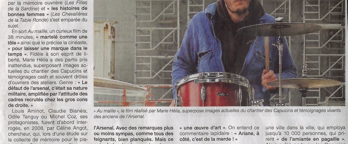 """""""Au maille!"""" projeté lors de la journée régionale du cinéma à Brest"""